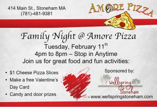 valentine family night